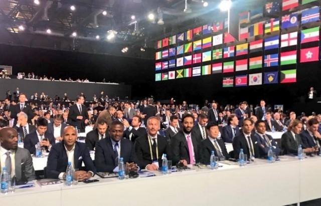 افتتاح أشغال المؤتمر ال 68 للاتحاد الدولي لكرة القدم