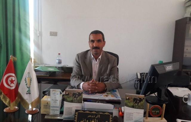 رئيس اتحاد الفلاحة عمر الغزواني