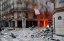 تسرب الغاز بحدى المباني بباريس