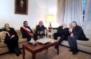 رئيس الجمهورية يتحول الى منزل الراحل مصطفى الفيلالي لتقديم واجب العزاء