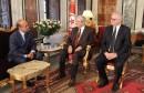 رئيسا البرلمان والمجلس الأعلى للقضاء يبحثان الاستعدادات للانتخابات التشريعية والرئاسية المقبلة