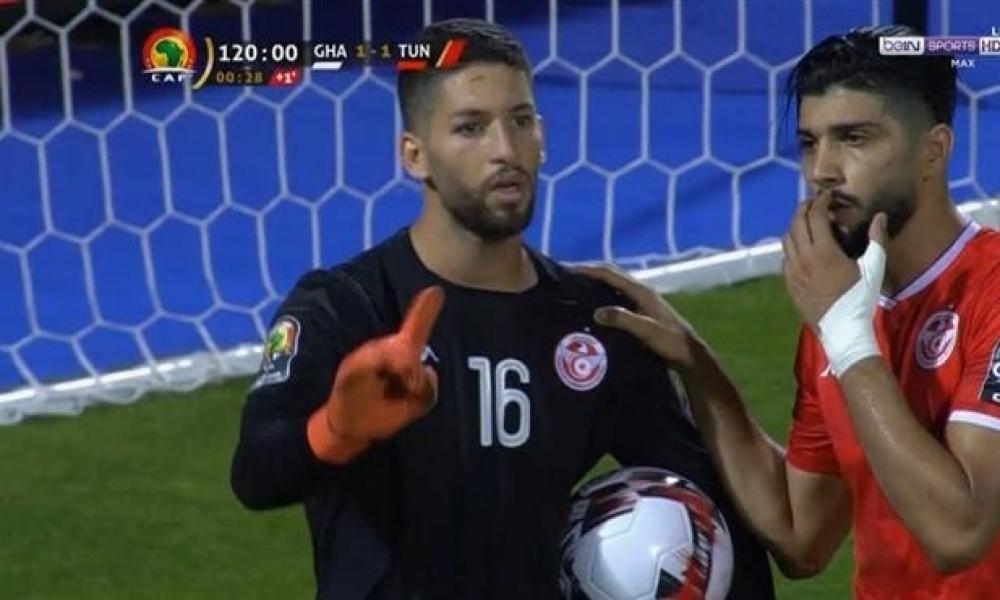 حارس المرمى معز حسن