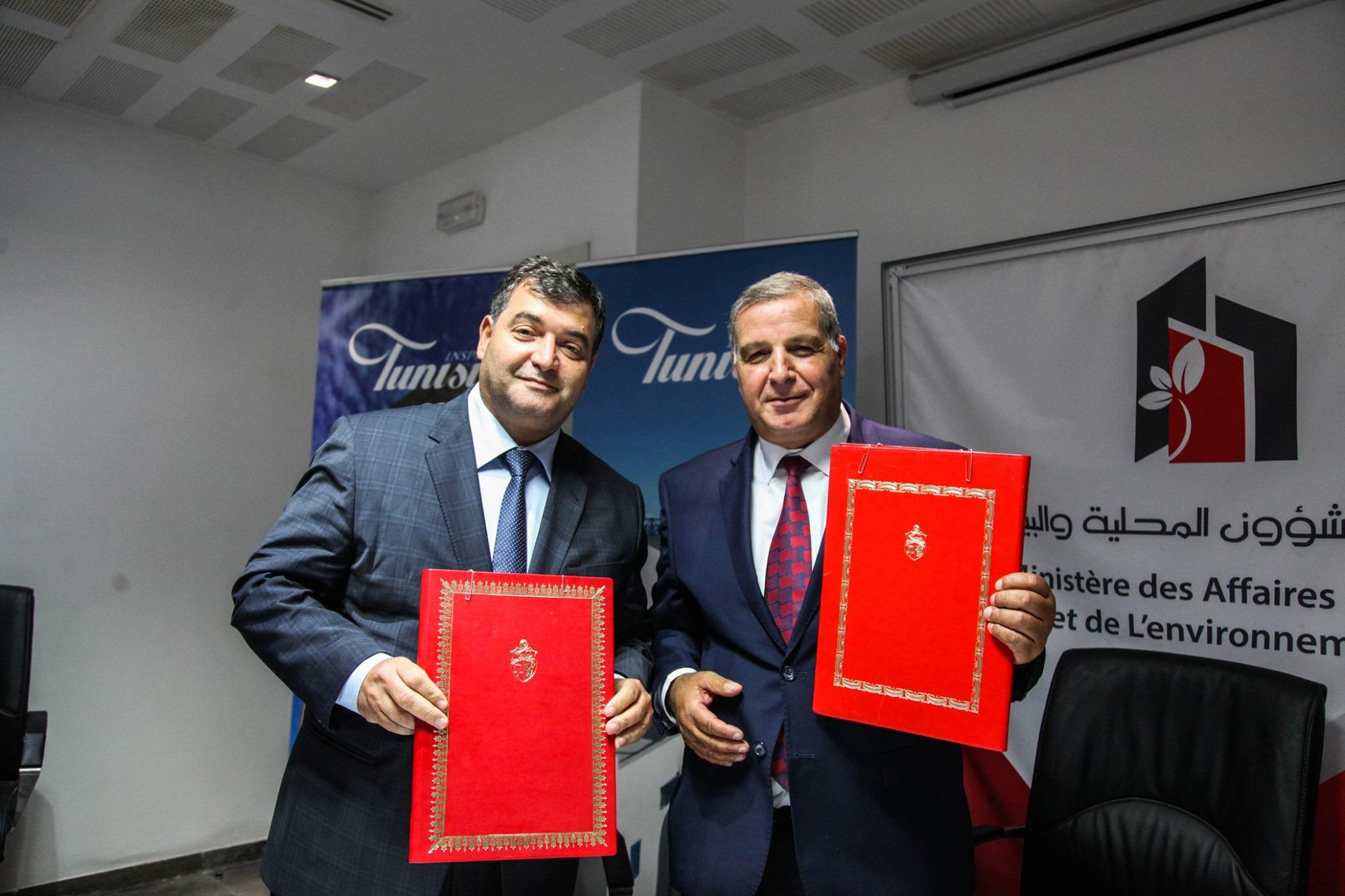 وزارتا البيئة والسياحة تتفقان على رصد 10 مليون دينار لفائدة 47 بلدية سياحية