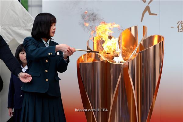 الشعلة الاولمبية