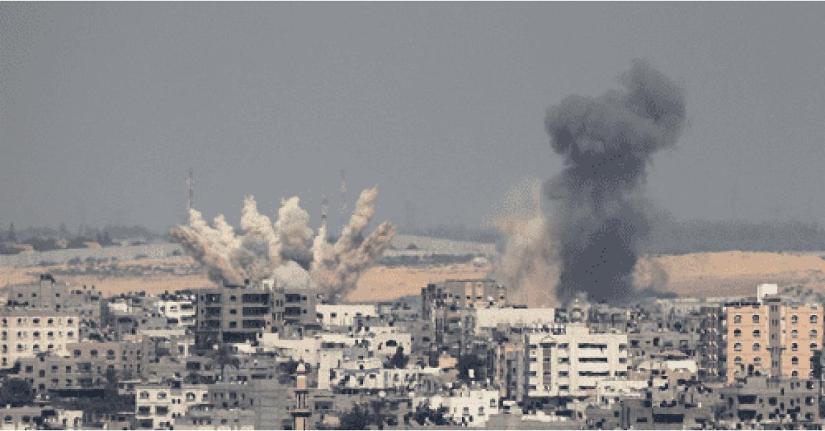 سقوط 9 شهداء فلسطينيين جراء قصف اسرائلي على قطاع غزة